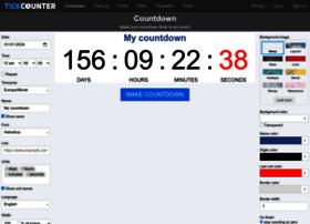 tickcounter.com