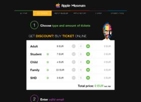 Ticket.applemuseum.com
