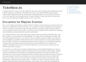 ticketbox.es