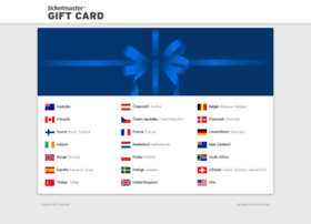 ticketmastergiftcard.com