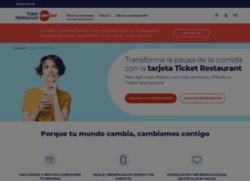 ticketrestaurantcard.es
