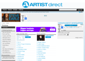 tickets.artistdirect.com