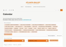 tickets.atlantaballet.com