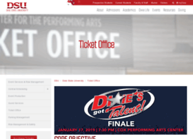 tickets.dixie.edu