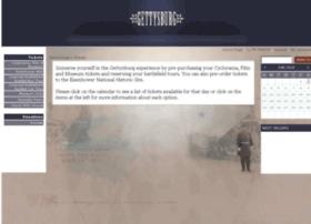 tickets.gettysburgfoundation.org