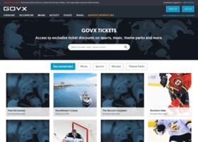 tickets.govx.com