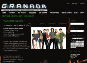 tickets.granadatheater.com