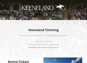 tickets.keeneland.com