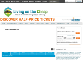 tickets.livingonthecheap.com