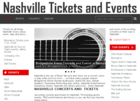 tickets.nashvilleticketsandevents.com