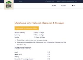 tickets.oklahomacitynationalmemorial.org