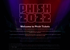tickets.phish.com