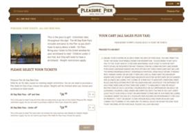 tickets.pleasurepier.com