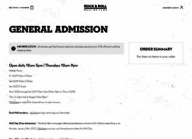 tickets.rockhall.com