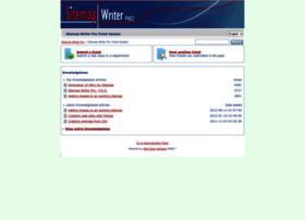 tickets.sitemapwriter.com