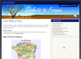 ticketstofrance.org