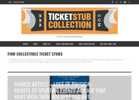 ticketstubcollection.com