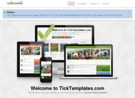 ticktemplates.com