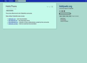 tiddlywiki.org