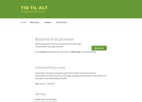 tidtilalt.dk