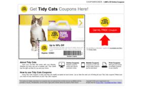 tidycats.couponrocker.com