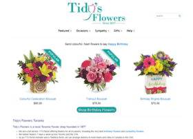 tidysflowers.com