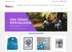 tiendascoutsur.com