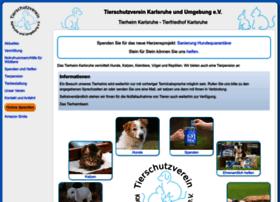 tierheim-karlsruhe.de