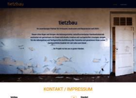 tietzbau.com