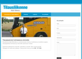 tilausliikennemattimikkola.fi