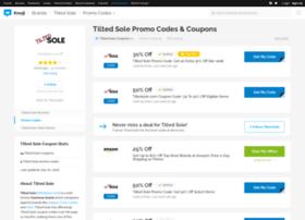 tiltedsole.bluepromocode.com