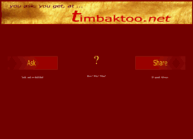 timbaktoo.net