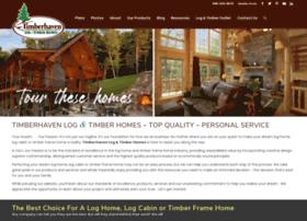 timberhavenloghomes.com