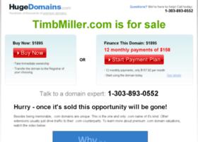 timbmiller.com