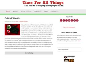 timeforallthings.com