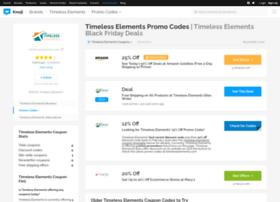 timelesselements.bluepromocode.com