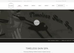 timelessskinspa.com