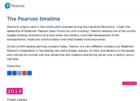 timeline.pearson.com