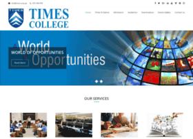 times.edu.pk