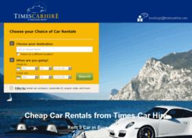 timescarhire.com