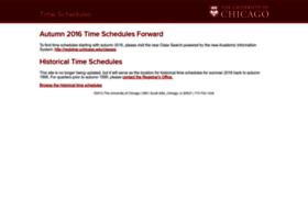 timeschedules.uchicago.edu