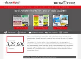 timesofindia.releasemyad.in