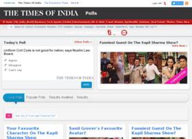 timespolls.itimes.com