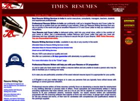 timesresumes.com