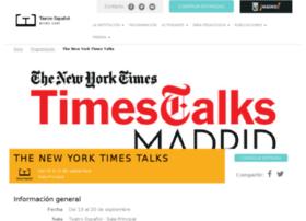 timestalksmadrid.com