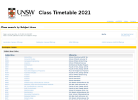 timetable.unsw.edu.au
