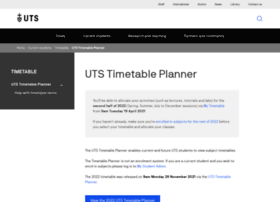timetable.uts.edu.au