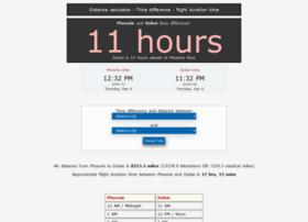 timezonedistance.com