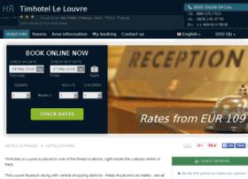 timhotel-le-louvre-paris.h-rez.com