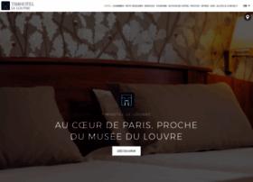 timhotel-paris-le-louvre.fr